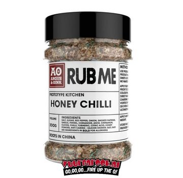 Angus & Oink Angus&Oink (Rub Me) Honey Chili Seasoning 200 gram