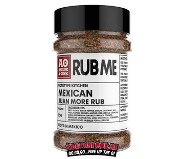 Angus & Oink Angus&Oink (Rub Me) Mexican Seasoning 215 gram