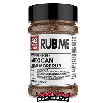 Angus & Oink Angus&Oink (Rub Me) Mexican Seasoning 215 gramm