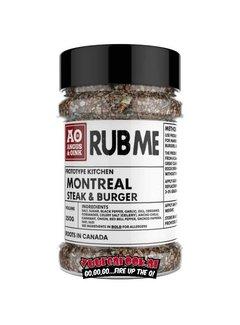 Angus & Oink Angus&Oink (Rub Me) Montreal Steak & Burger Seasoning 250 gram