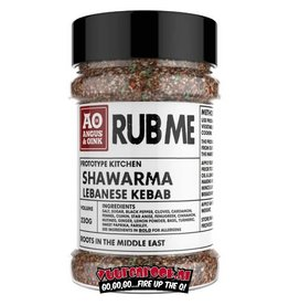Angus & Oink Angus&Oink (Rub Me) Shawarma Herbs Lebanese Kebab
