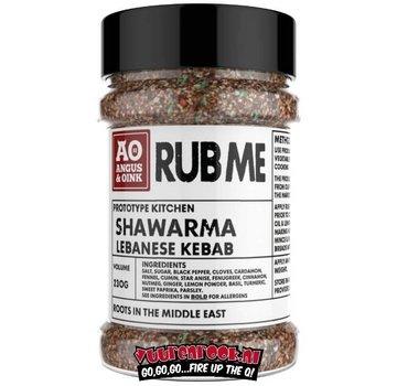 Angus & Oink Angus&Oink (Rub Me) Shawarma Herbs Lebanese Kebab 230 gram