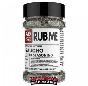 Angus & Oink Angus&Oink (Rub Me) Gaucho Steak Seasoning  175 gram