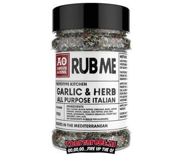 Angus & Oink Angus&Oink Garlic And Herb Seasoning 175 gram