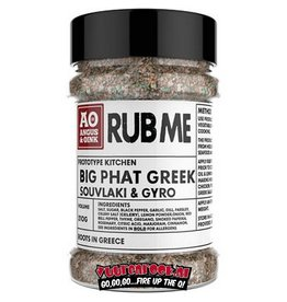 Angus & Oink Angus&Oink (Rub Me) Big Phat Greek Seasoning