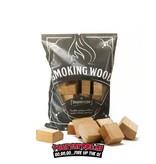 BBQHout.com Chunks / Blocks Alder/Els 1 kilo
