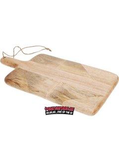 Vuur&Rook Mango Houten Snij/Serveerplank met Handvat