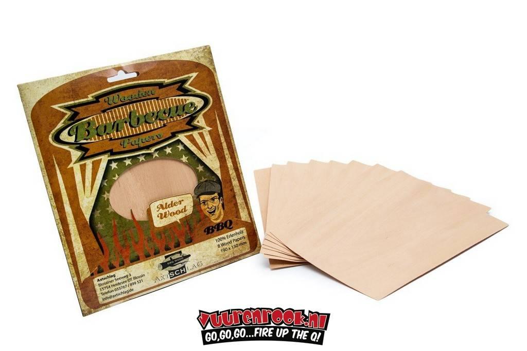 Axtschlag Axtschlag Wood Papers Alder 8St
