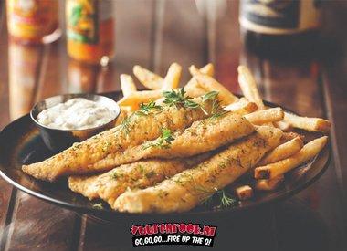 Fish & Chips Focaccia