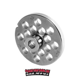 Wolfcut Wolfcut Germany Enterprise 10/12 Stainless Steel Plate with Navel 10 mm
