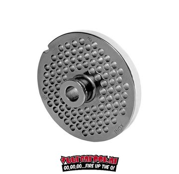Wolfcut Wolfcut Germany Enterprise 32 Stainless Steel Plate with Navel 6 mm