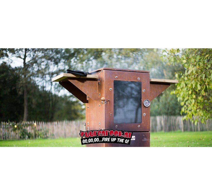 Le Maitre Smoker Iron Brown