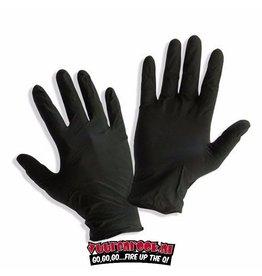 Nebur Zwart Nitril Handschoenen Ongepoederd Zwart 100 stuks
