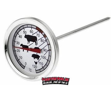 Houseware Vuur&Rook Stainless steel core thermometer 53mm