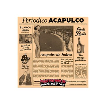 Acapulo Catering Fat Free Paper Serve Newspaper Brown 1000 pieces
