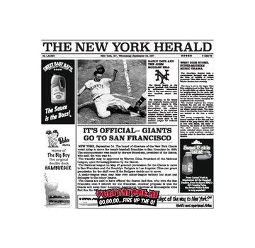 The New York Catering Fat Free Paper Serve Zeitung Weiß 1000 Stück