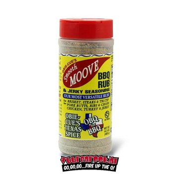 Obie Cue Obie Cue's Smooth Moove BBQ Rub & Jerk 14.3oz