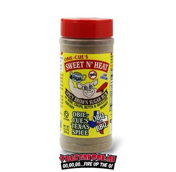 Obie Cue Obie Cue's Sweet N Heat Spicy Brown Sugar 12.4oz
