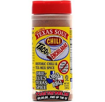 Obie Cue Obie Cue's Texas Soul Seasoning 8.4oz
