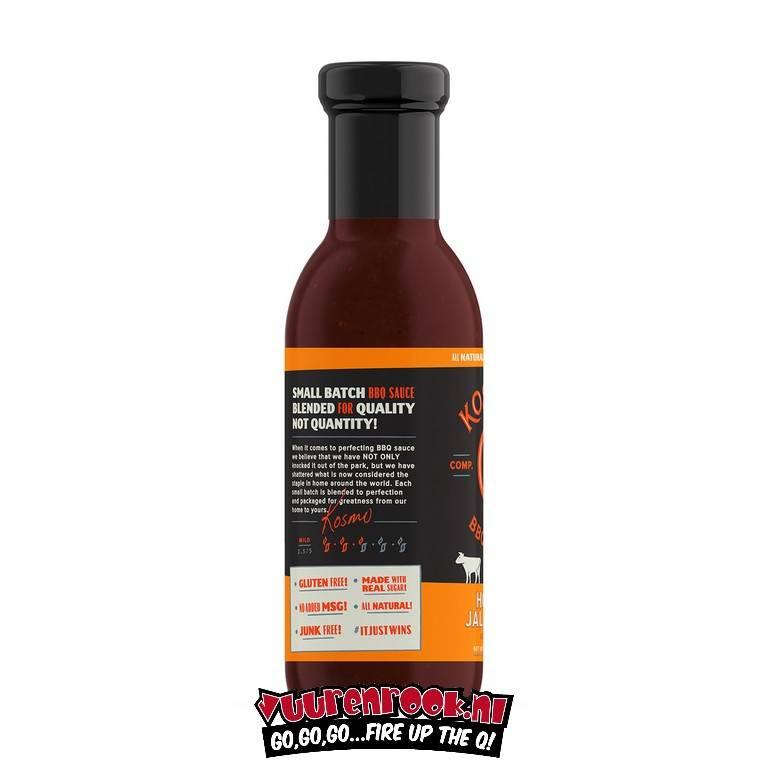Kosmos Kosmos Honey Jalapeño BBQ Sauce