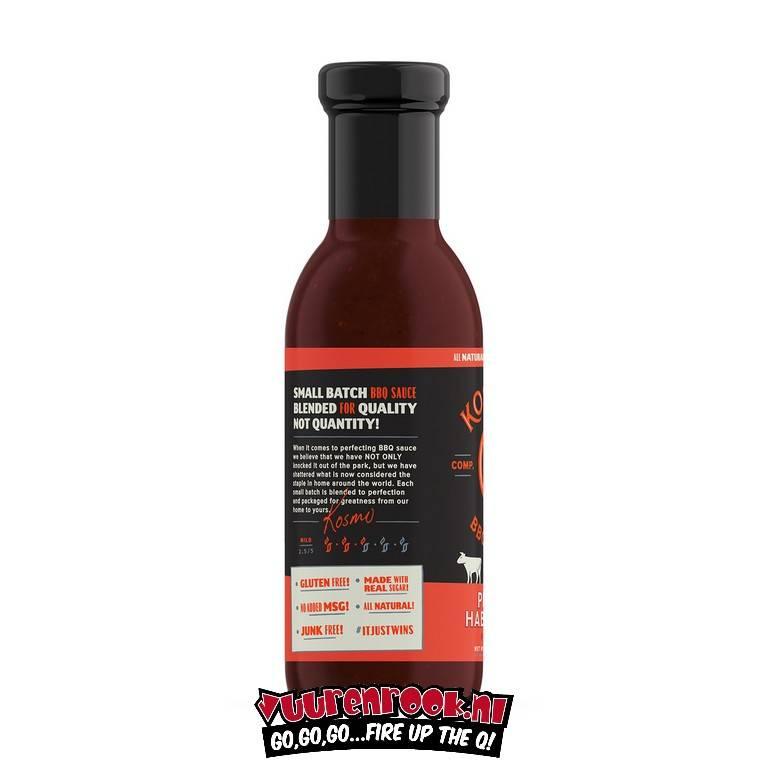 Kosmos Kosmos Peach Habanero BBQ Sauce