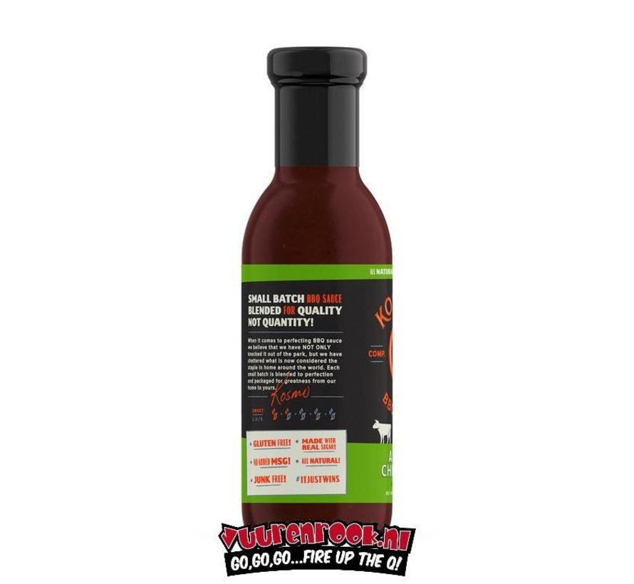 Kosmos Sweet Apple Chipotle BBQ Sauce 15.5oz