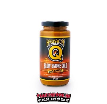 House of Q House Of Q Slow Smoke Gold BBQ Sauce 12oz