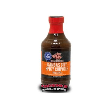 Three Little Pigs Three Little Pigs Spicy Chipotle BBQ Sauce 19.7oz