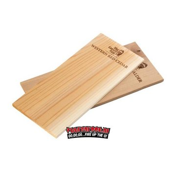 Big Green Egg Big Green Egg Wooden Grilling Alder Planks