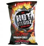Hot Heads Hot Headz Habanero Inferno Chips