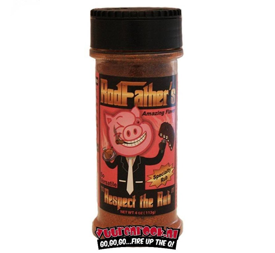 Rodfather's Respect the Rub Specialty Rub