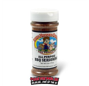 Smoky Mountain Smoky Mountain Smokers All Purpose BBQ Seasoning 6oz