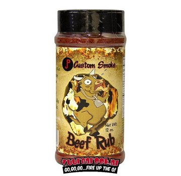 JP Custom Smoke JP Custom Smoke Beef Rub 12oz