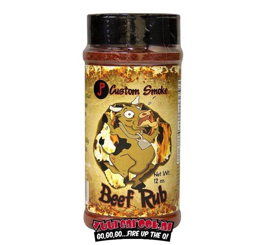 JP Custom Smoke Beef Rub 12oz