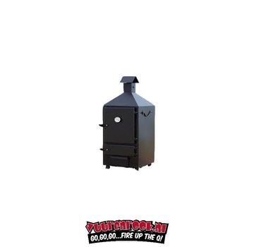 Smoki Vuur&Rook Professionele Dubbelwandige Rookoven 125 cm
