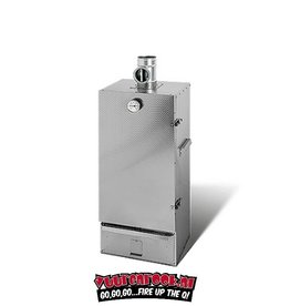 Smoki Vuur&Rook Double walled smoking oven stainless steel 85 cm