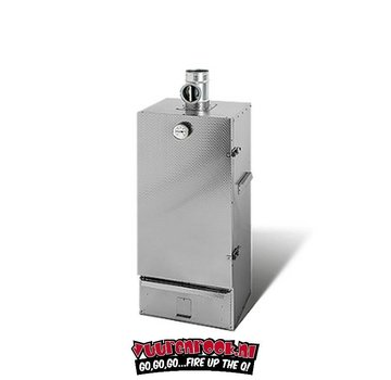 Smoki Vuur&Rook Double walled smoking oven Stainless Steel 120 cm