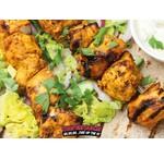 Dollie's Chicken Pepper Curry-Spieße