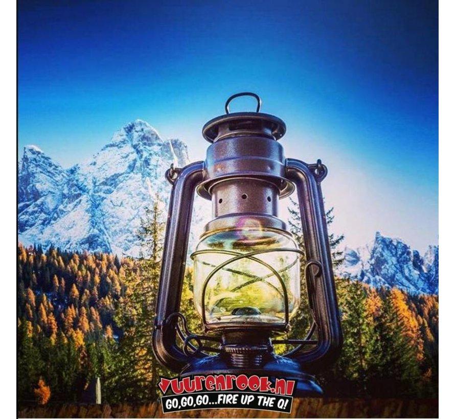 Original Feuerhand Sturmlaterne Sparkling Iron