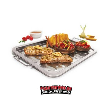 Grillpro GrillPro Stainless Steel Grill Topper