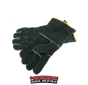 Grillpro GrillPro Black Leather BBQ glove