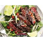 Koreanischer Steak Salat