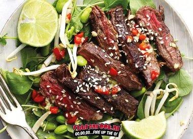 Koreaanse Steak Salade