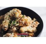 Garlic chicken wings met parmezaanse kaas