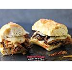 Ribeye Sandwich mit karamellisierten Zwiebeln