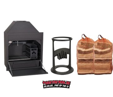 Home Fires Home Fires Braai 800 Built In Complete Deal