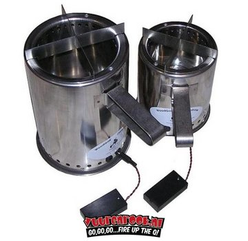 WoodGas Campstove Stainless Steel