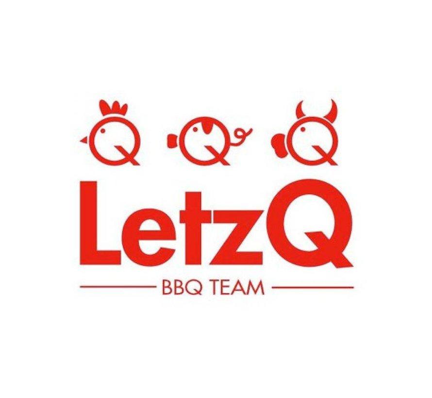 LetzQ Award Winning Pork Rub 100 gram