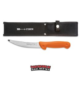F-Dick F-Dick Magicgrip Field Dressing Knife Partly Serrated Edge 15cm + Knife Sheath