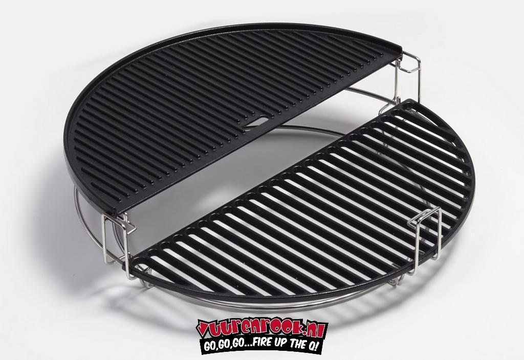 Kamado Joe Kamado Joe Two-sided cast iron grill plate Big Joe